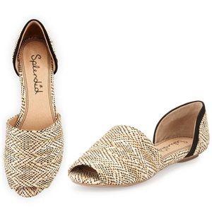 Splendid woven flat shoes